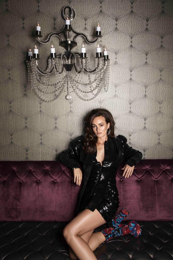 Leighton Meester / Saint Laurent / V Magazine