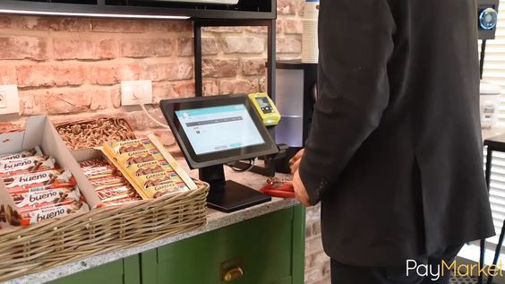 Pomt of Sale Self Check-out touchscreen