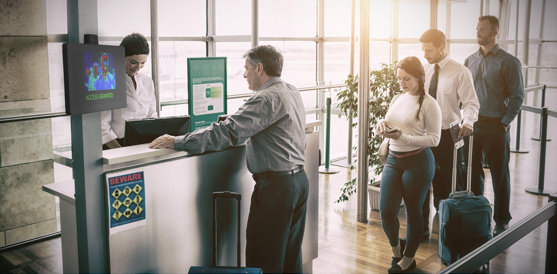 Airport Boarding temperature Screening