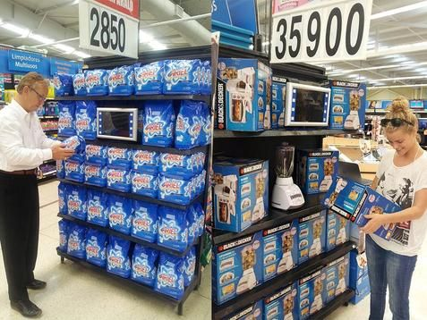 Walmart Display Screens