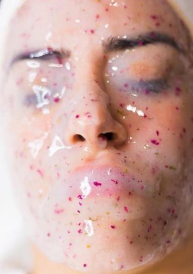 Jelly Mask Behandlung