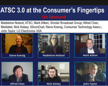 ATSC panel at CES 2021 reviews new consumer-facing ATSC 3.0 technology