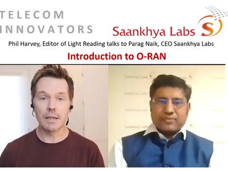 Saankhya Labs CEO explains O-RAN