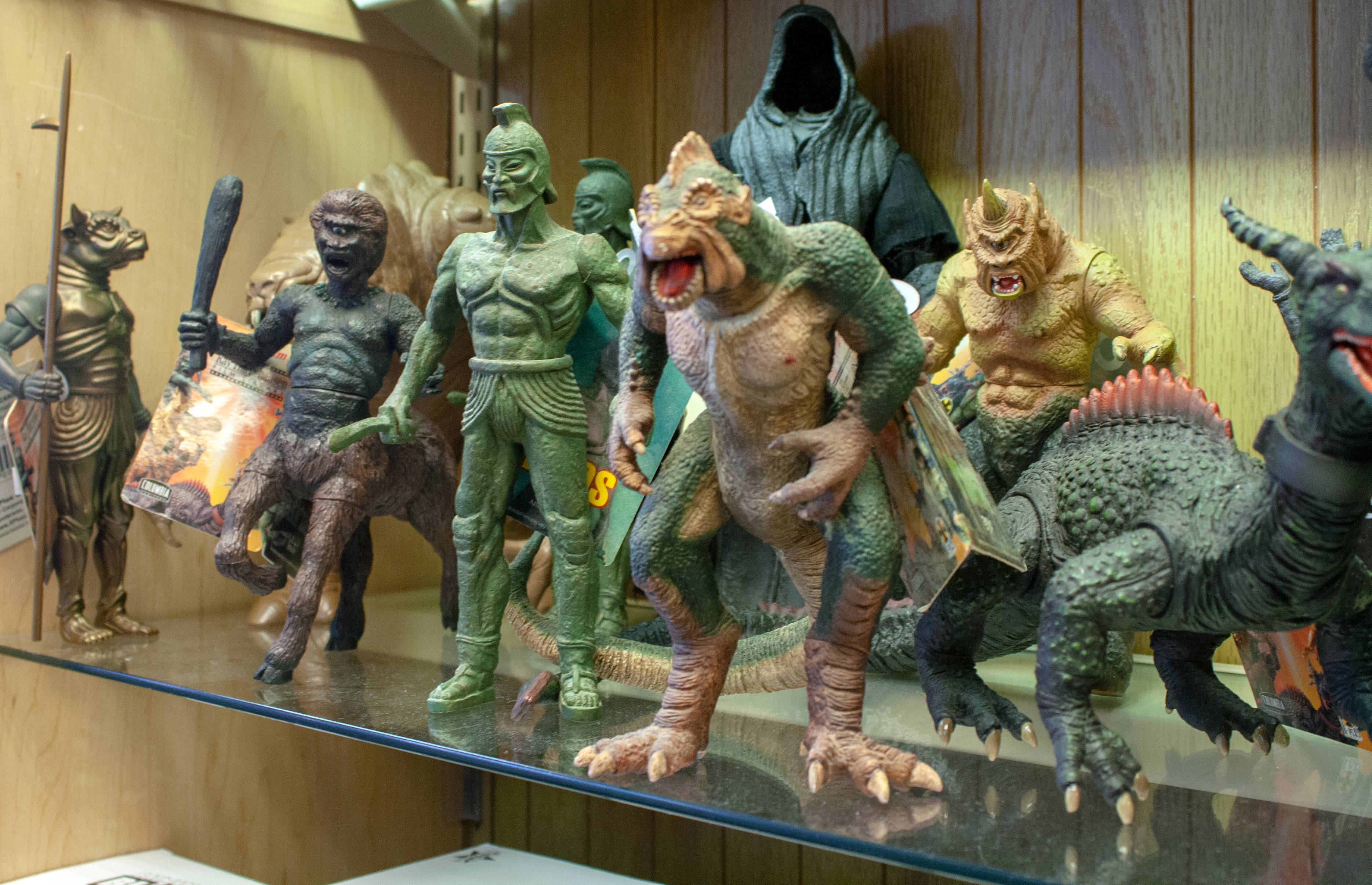 Ray Harryhausen X-Plus toys