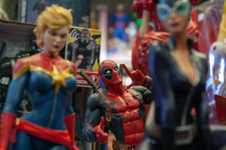 Marvel and DC toys