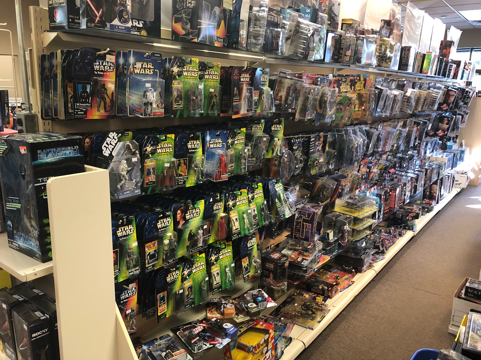 Our Star Wars collection is massive!