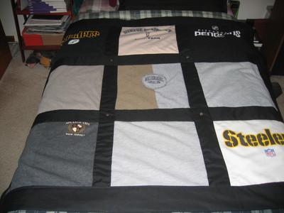 Bordered T-shirt Quilt