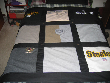 Bordered T-shirt Quilt