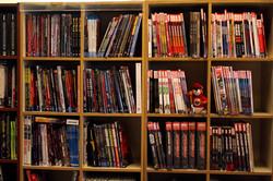 Trade paperbacks and hardbacks