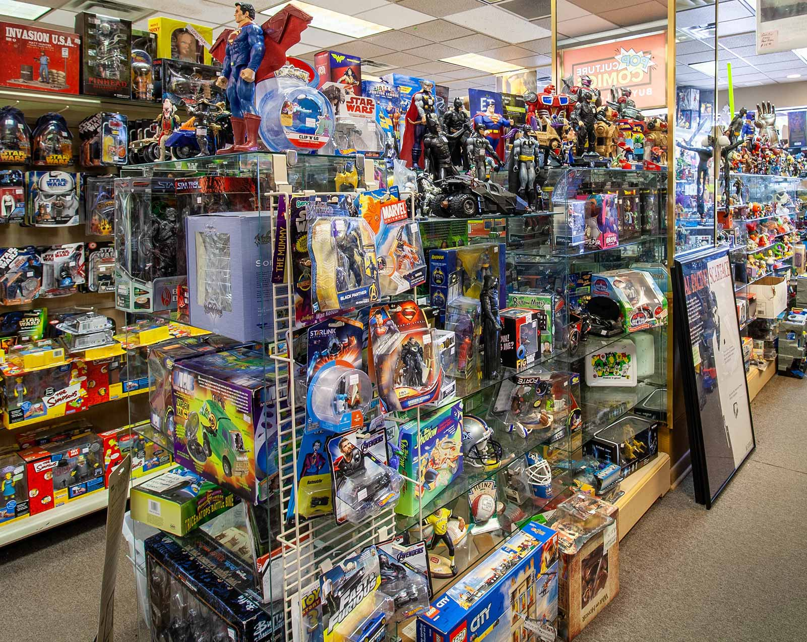 All varieties of toys available