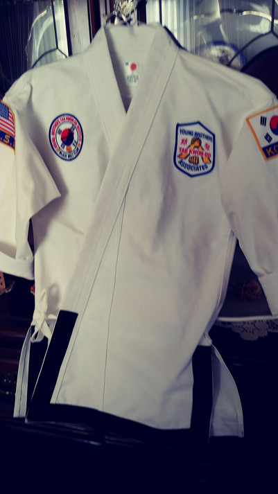 Tae Kwon Do Patches
