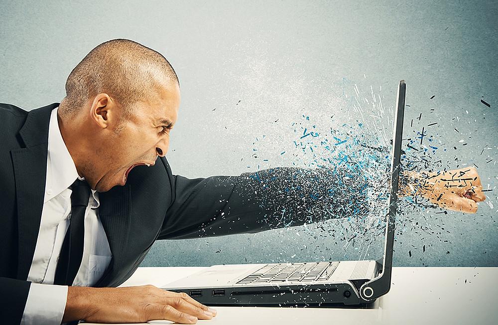 HR Manager going ballistic