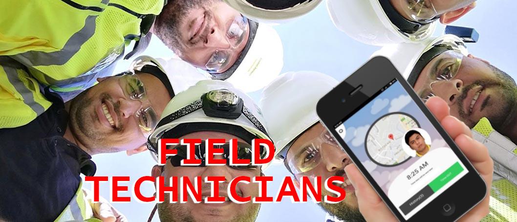 field technicians