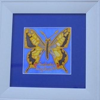 Swallowtail Butterfly on Silk -  Sold