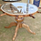 Thumbnail: Rare Ships Wheel Table Finished with Rope and Glass
