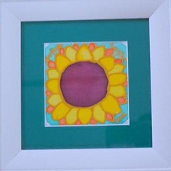 Sunflower on Silk