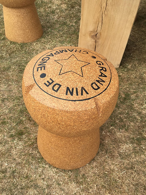 Giant Champagne Cork Stools