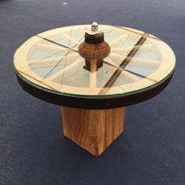 Baby Oak Cartwheel Table