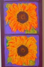 Sunshine on Sunflowers Mixed Media