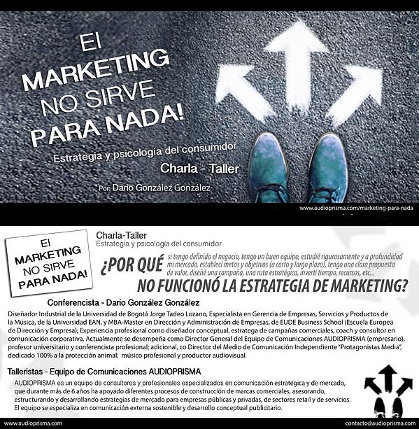 Conferencia sobre marketing