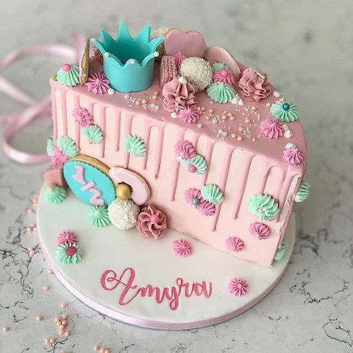 """6"""" Half Cake (Custom Order for Megha)"""