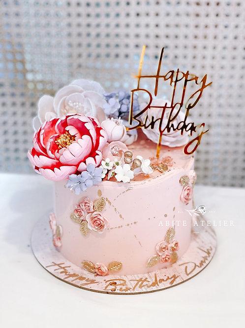 Primrose Buttercream Cake