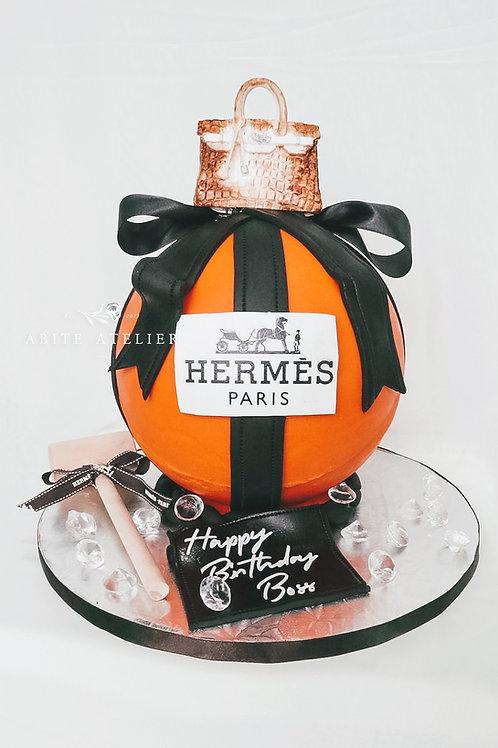Hermes Piñata Cake