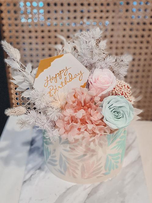 Camellia Buttercream Cake