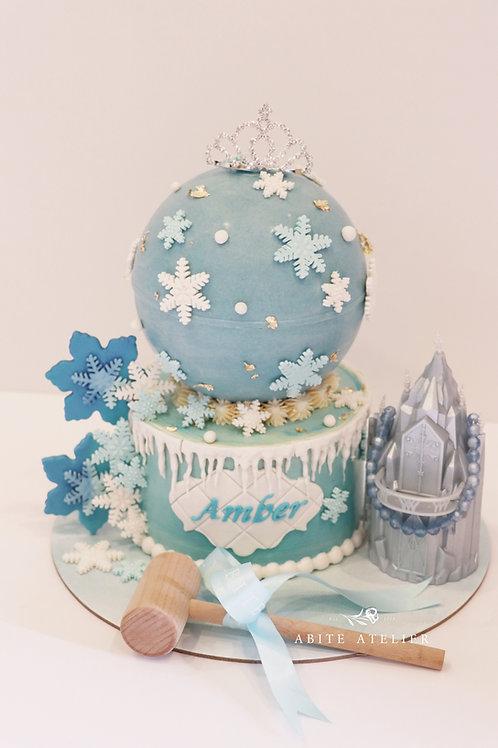 Frozen Piñata Cake