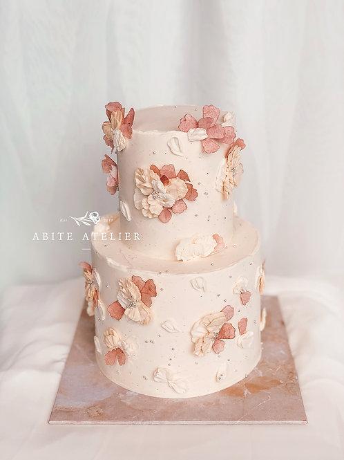 Fleurette Buttercream Cake