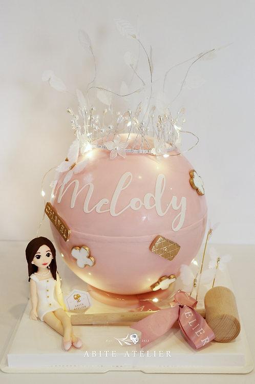 Luxe Series - Melody Piñata Cake