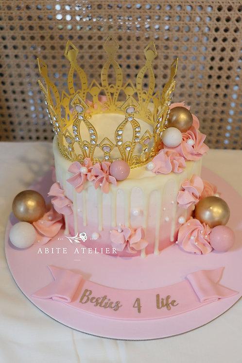 Princess Anastasia Buttercream Cake