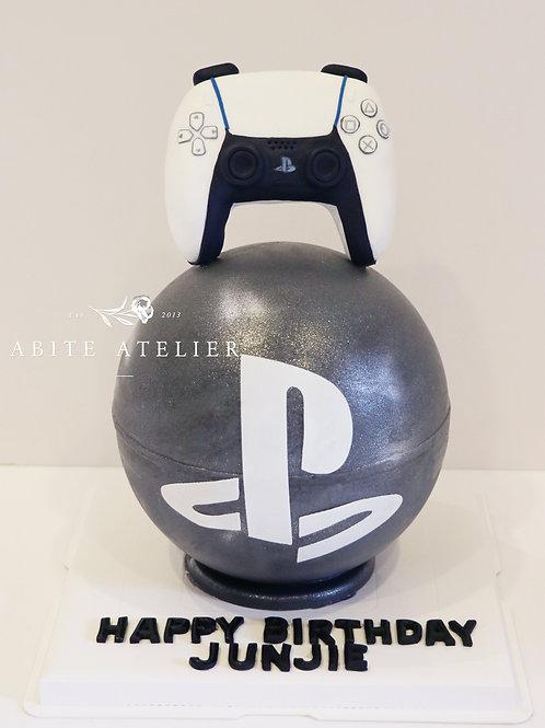 PS5 Piñata Cake