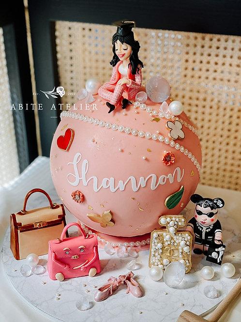 Luxe Series - Haut Monde Piñata Cake