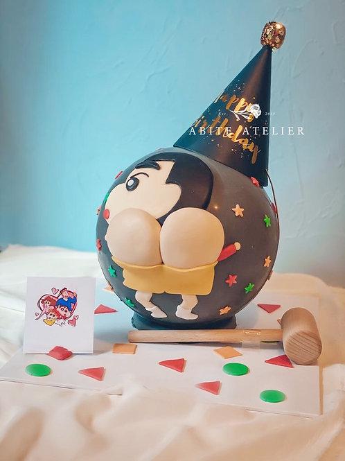 Crayon Shin Chan Piñata Cake