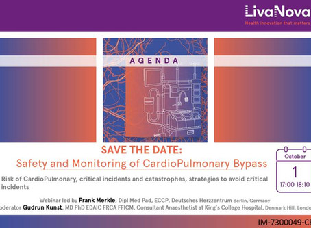 Webinar: Safety and monitoring of cardiopulmonary bypass