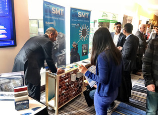 [CCBST 2017] 1 Tradeshow Booth. 2 Presentations. 3 Papers.