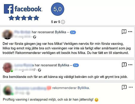Recensioner by Mika Intimvaxning