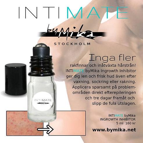 Intimate by Mika, Ingrowth Inhibitor mot inåtväxta hårstrån