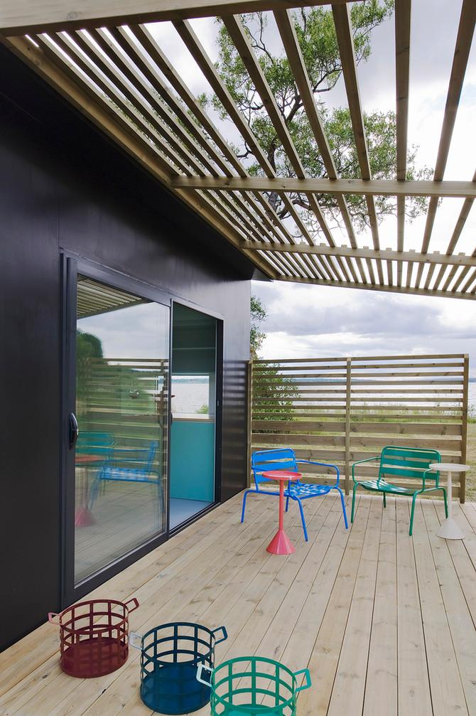 La mini-maison de l'architecte suédois Jonas Wagell
