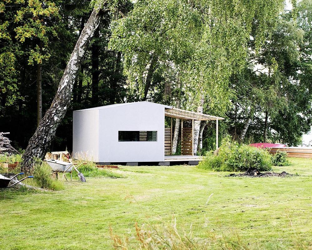 Maison Ossature Bois Suede la mini-maison de l'architecte suédois jonas wagell