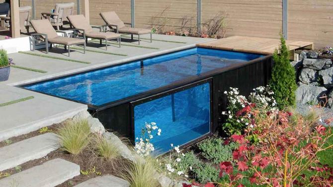 Transformer un conteneur maritime en piscine avec MODPOOLS