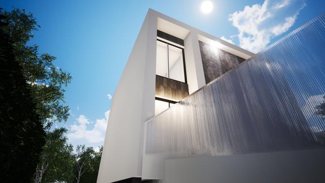 Construction d'une HMOB - maison passive à thionville - Guentrange.