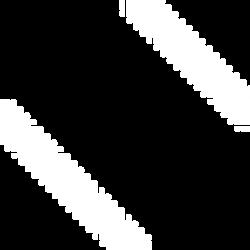 Two Small Diagonal Lines Black