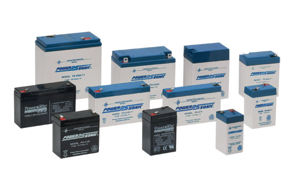 Batteries of all types