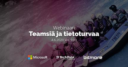 Teamsiä ja Tietoturvaa -webinaarin tallenne
