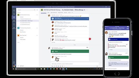 Microsoft Teams mobiililaitteilla