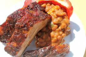 Ribs and baked beans.jpg