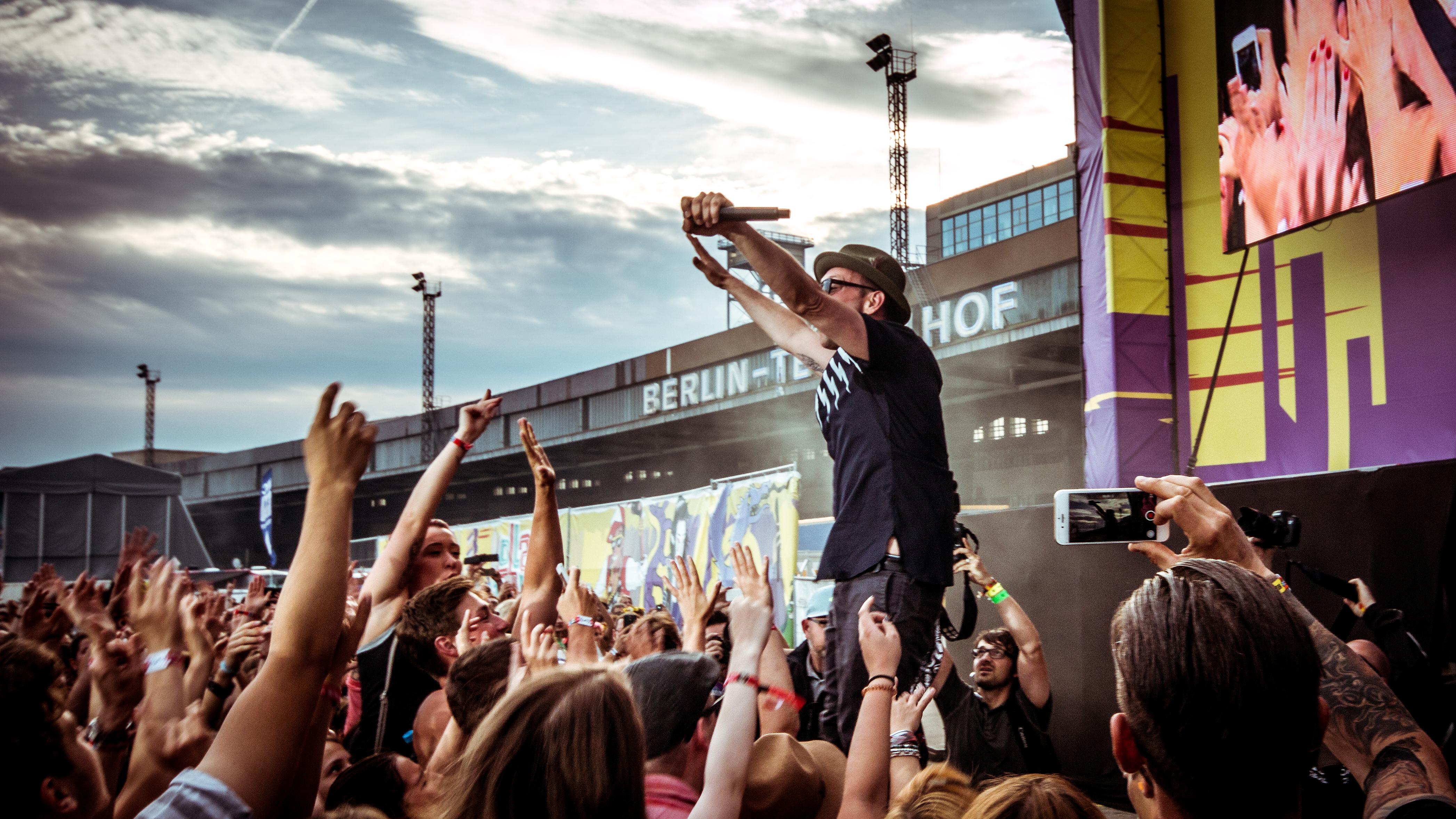 Beatsteaks beim Lollapalooza Berlin