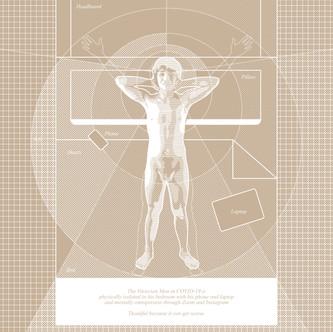"""The Vitruvian Man in COVID-19"""